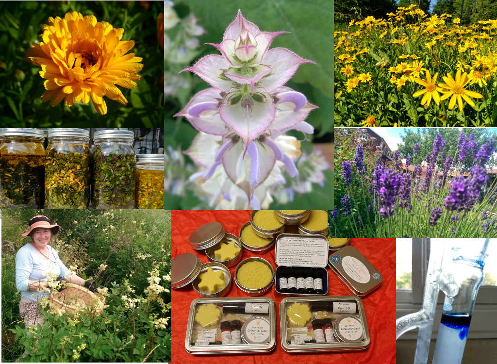 Laine Herbals Collage