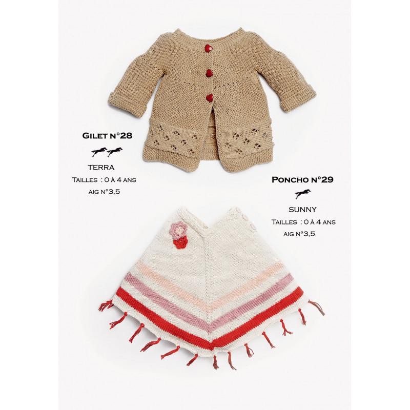 Tricoter Un Poncho Du 2 Ans : tricoter, poncho, Modèle, Poncho, Patron, Tricot, Gratuit, Cheval, Blanc