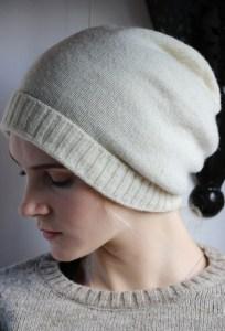 bonnet long pure laine Laines Paysannes
