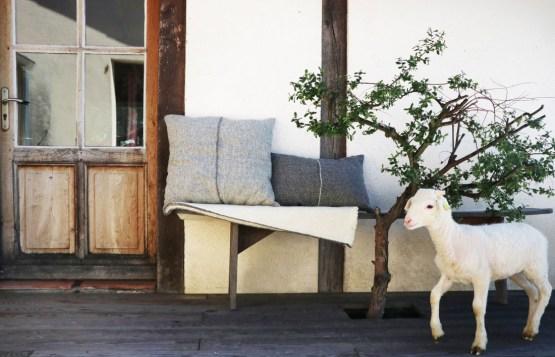 Décorations artisanales pure laine France