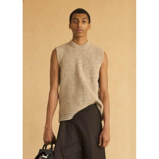 Pull homme oversize pure laine française