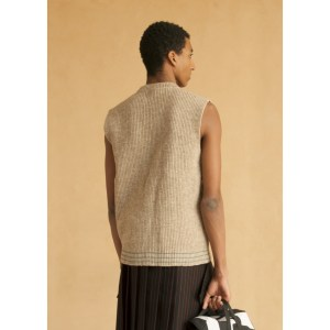 Pull design homme pure laine Made in France