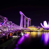 Singapur: Helix Bridge