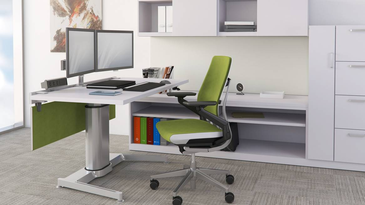 Improve Health with a Sit Stand Workstation  Laird