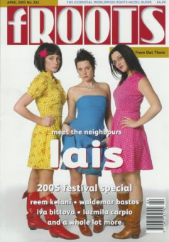 2005 - fRoots April Issue