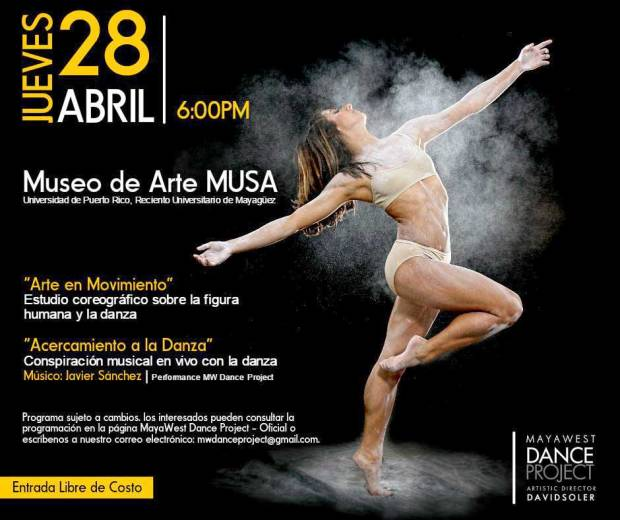 MayaWest Dance Project @ Musa banner