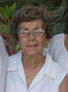 María N. Ramos Caro había sido reportada por su hijo, como desaparecida, para esa fecha del 27 de marzo de 2013 y luego el 26 de abril de ese mismo año, fue localizada una osamenta parcialmente quemada en un terreno en el Bo. Guayabo, de Aguada.