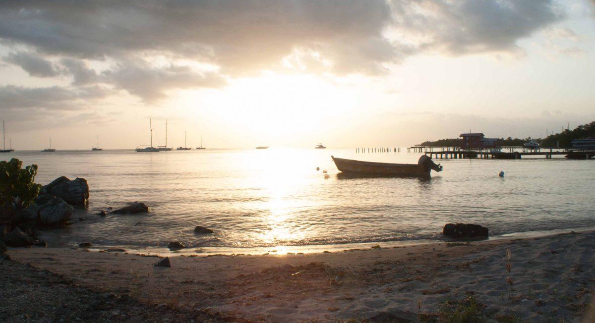 Boqueron Cabo Rojo atardecer