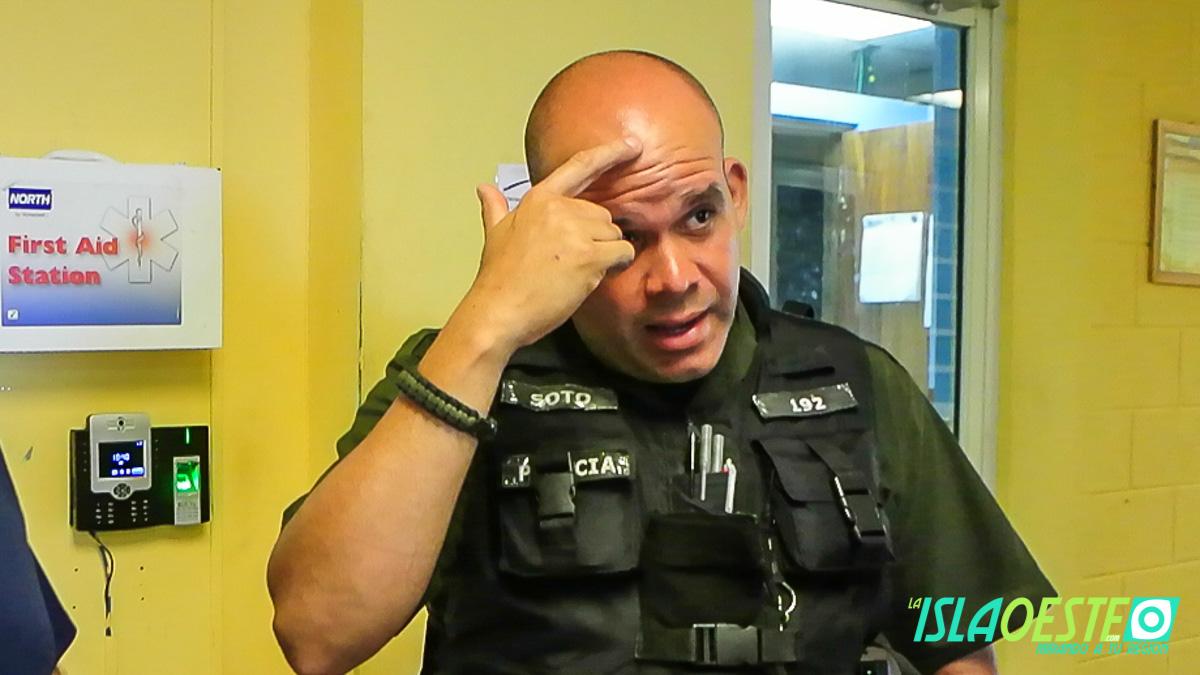 Policía Municipal de Aguadilla sobrevive a picada de araña viuda 3114
