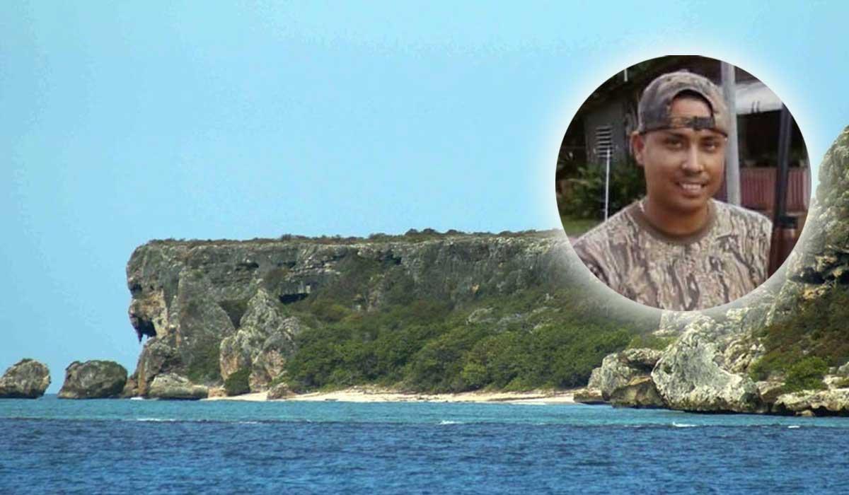 Antonio Carrion Cazador perdido en Isla de Mona