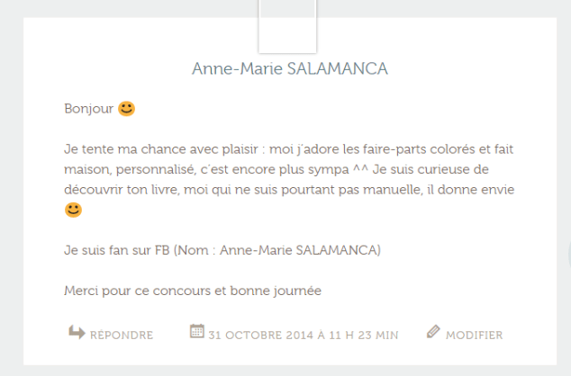 commentaire gagnant 2