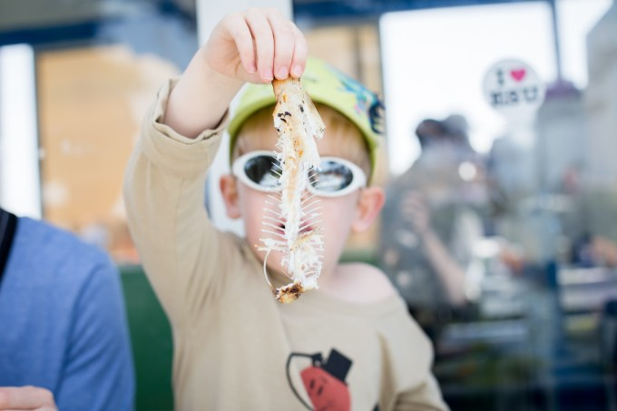 Essaouira kids friendly poissons grillés port
