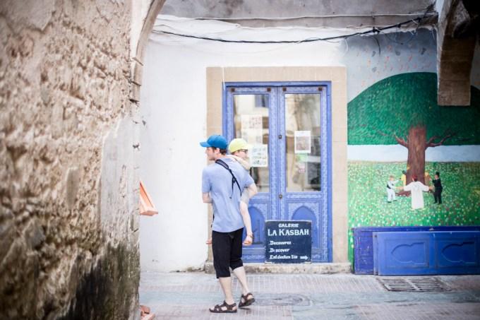 Essaouira - galerie la Kasbah