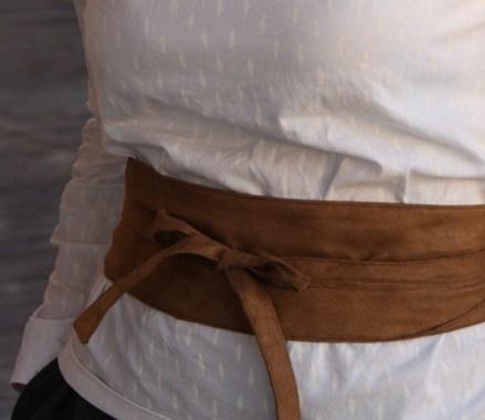 Ceinture Obi Dressing Chic par Laissons Lucie Faire