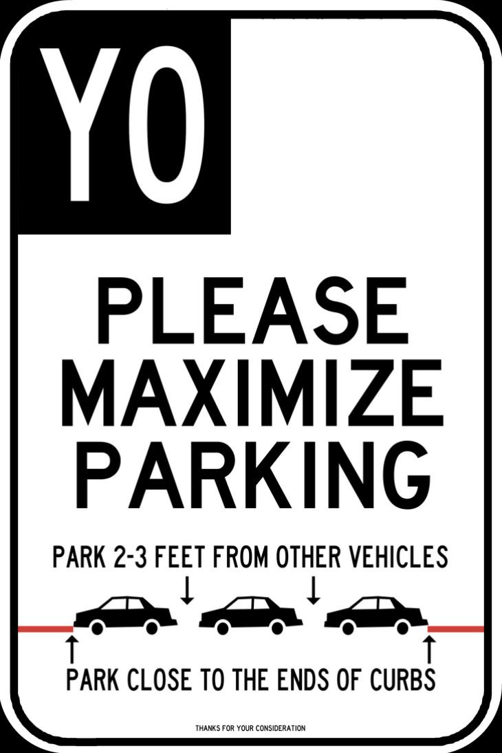 Parking Sign Font