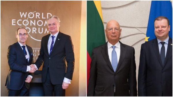 """Visi Lietuvos """"vadovai"""" – G.Nausėda, D.Grybauskaitė ar Šimonytė – yra tik pėstininkai Švabo plane sunaikinti pasaulį, prisidengiant """"žmonių gerove"""""""