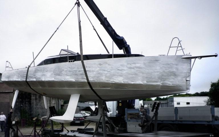 Galileo 9m chargement au chantier