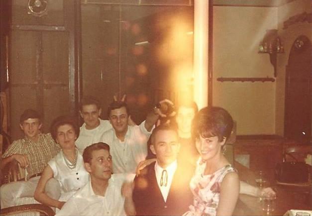 Le dernier jour de gérance de la famille de Mme Pastore Henri - 1967