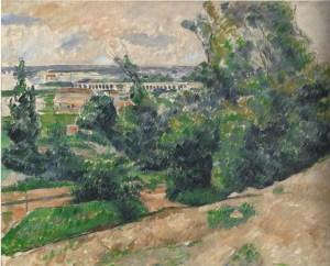 L'Aqueduc du canal du Verdon au nord d'Aix-en-Provence