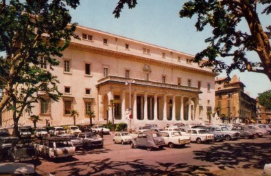 Le Palais de Justice d'Aix-en-Provence après 1958