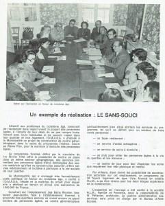 """Le """"Sans Souci"""" en 1975"""