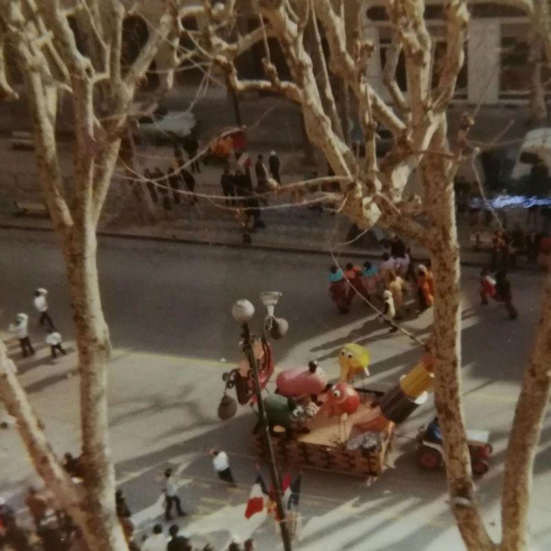 Carnaval d'Aix en 1969