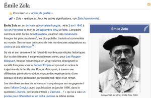 Scoop : Zola né à Aix le 2 avril 1840