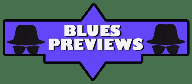 logo for blues previews