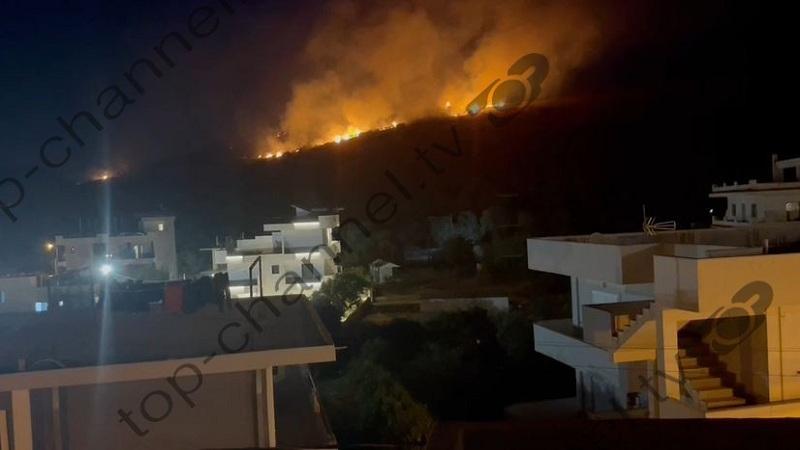 Situata del jashtë kontrollit në Ksamil