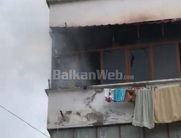 FOTO/ Shpërthen bombula e gazit