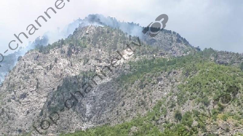"""Vatër zjarri pranë zonës së mbrojtur """"Lugina e Valbonës"""""""