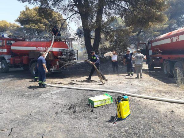Zjarret/ Rinis ndërhyrja nga ajri në Karaburun