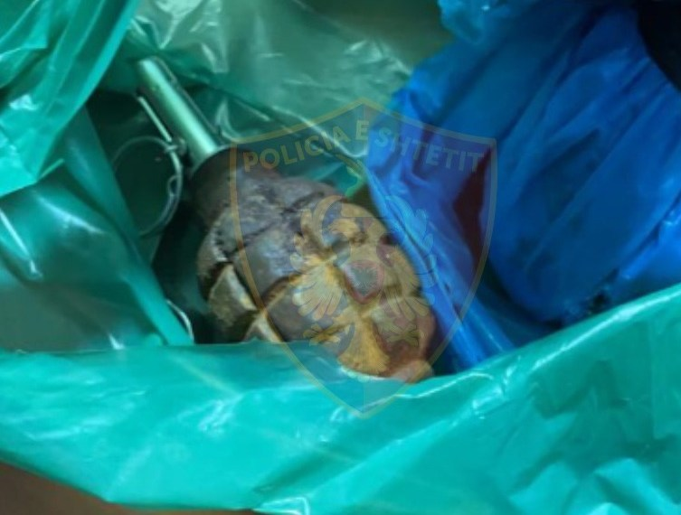 Kishte fshehur dy granata me ndezës të montuar në shtëpi