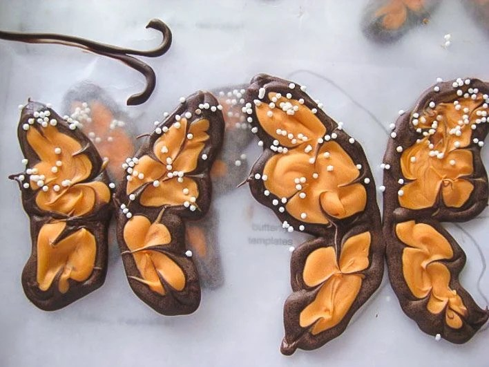 how to make butterfly cupcake wings