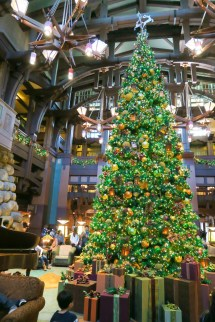 Disneyland Grand Californian Hotel Christmas