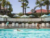 Cabanas Hotel Del Coronado Beach San Diego