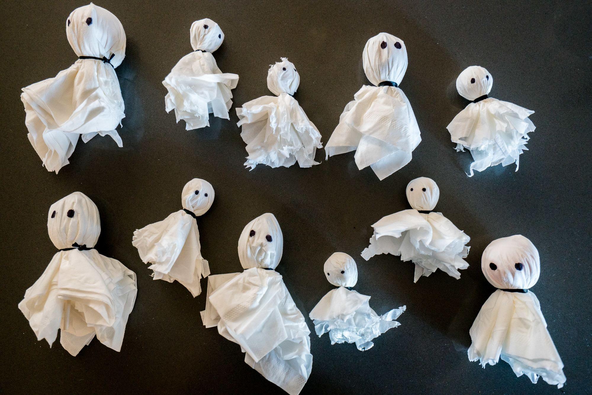 6 toddler halloween games