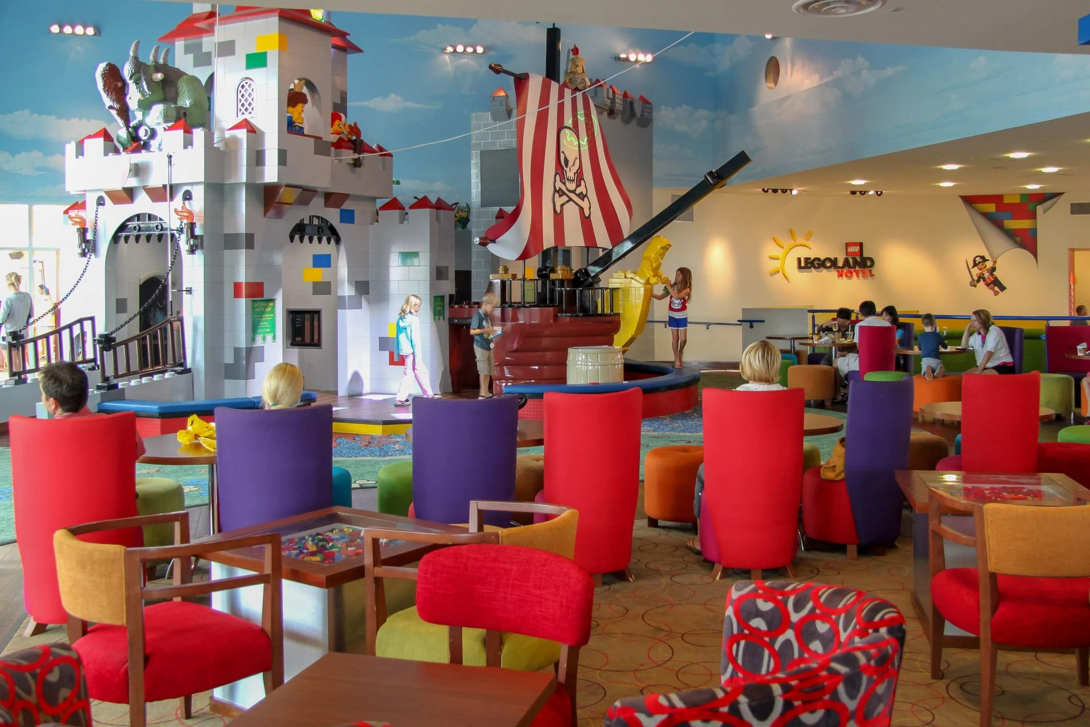 pool floating lounge chairs high review of legoland hotel in california | san diego hotels