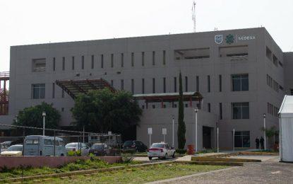 Hospital de Especialidades Belisario Domínguez durante la fase 3 de la contingencia nacional sanitaria por Covid-19, ubicado en San Lorenzo Tezonco, Iztapalapa. Foto: Pablo Ramos