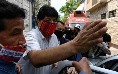 Evo Morales renunció a la presidencia de Bolivia el 10 de noviembre de 2019 bajo la presión de las fuerzas armadas. Foto Afp