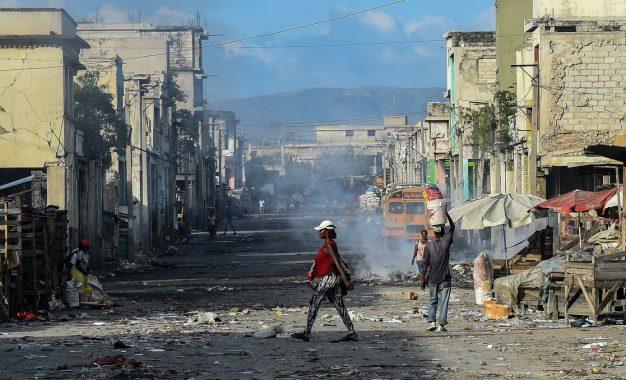 De enero a marzo de 2021 se registraron más de 600 secuestros en Haití. Foto: Afp