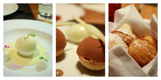 maison boulud-Desserts Collage