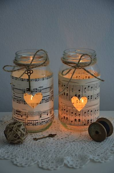 10-vintage-sheet-music-glass-jars---wedding-decorations-candles-five-dock-canada-bay-area-image-2