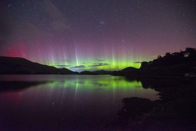 aurores australes, Nouvelle-Zélande