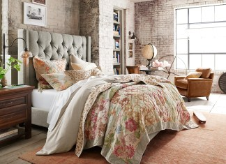 pottery-barn-chambre-fleurie
