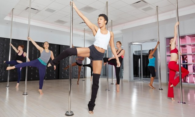 entraînement le fun, pole fitness