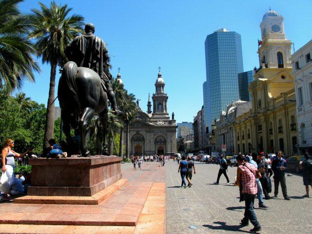 Santiago et sa Plaza de Armas