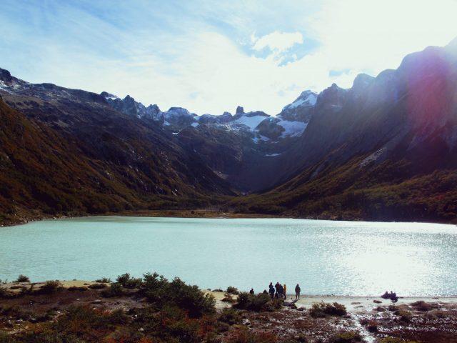 La Laguna Esmeralda, Ushuaia en Terre de Feu