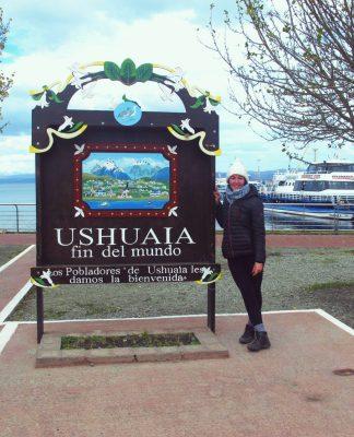 Le panneau de Ushuaia