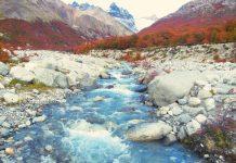 Parque Nacional de Los Glaciares en Argentine